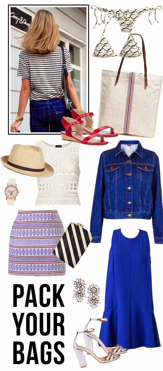 The Steele Maiden: What to pack Fourth of July weekend
