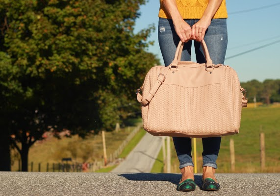 The Steele Maiden: Weekend travel style with Sole Society