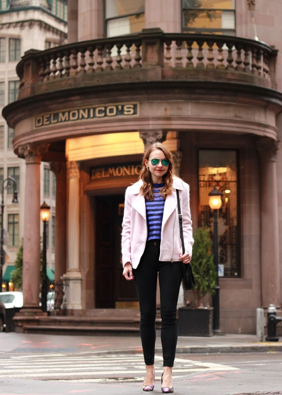 Downtown_New_York_ASOS_stripe_top_Piperlime_BB_Dakota_Pink_Moto_Jacket