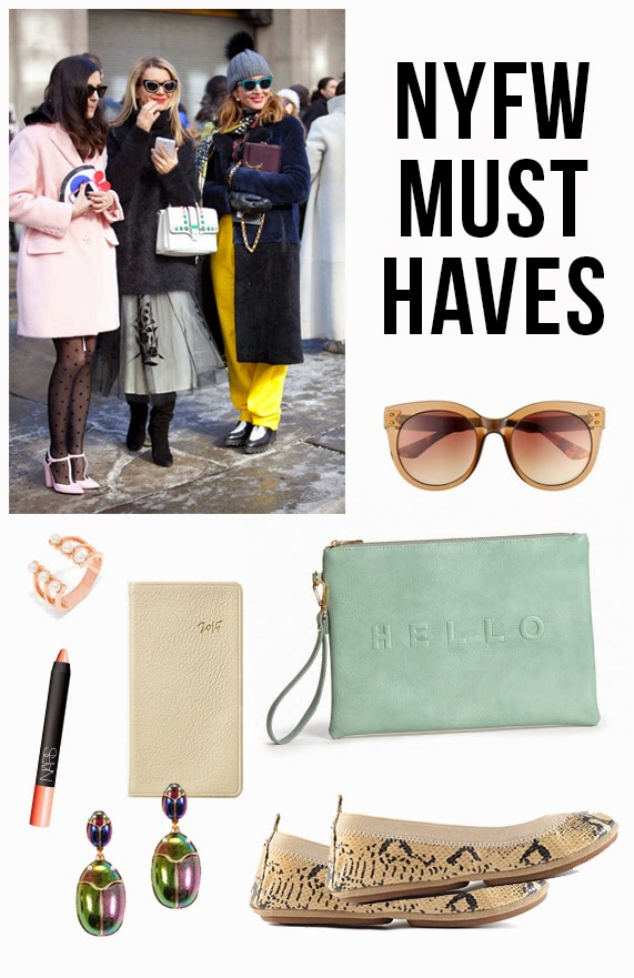 The Steele Maiden: NYFW Must Haves