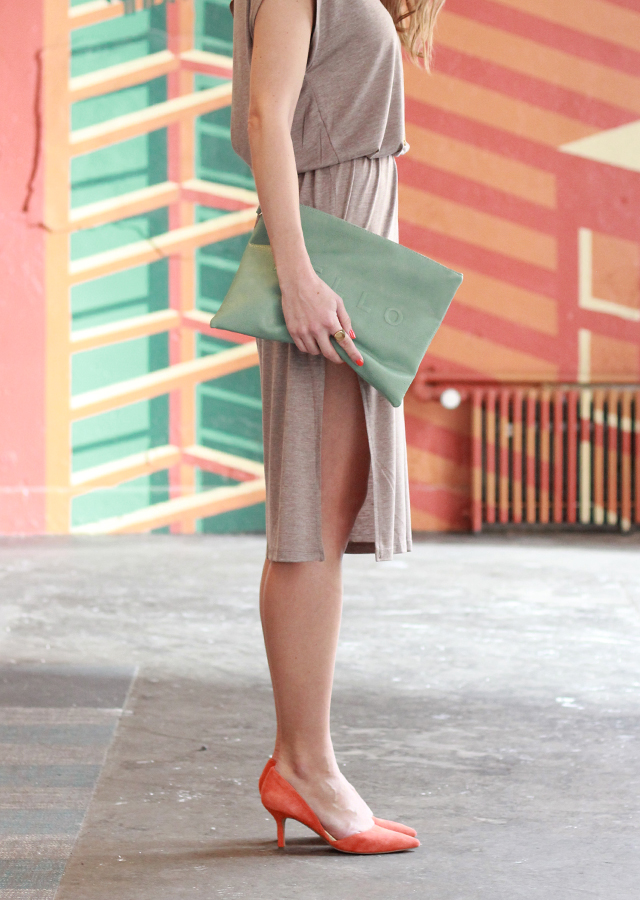 Day_Date_Ruche_Knit_Thigh_Slit_Dress_Sole_Society_Heels_Clutch