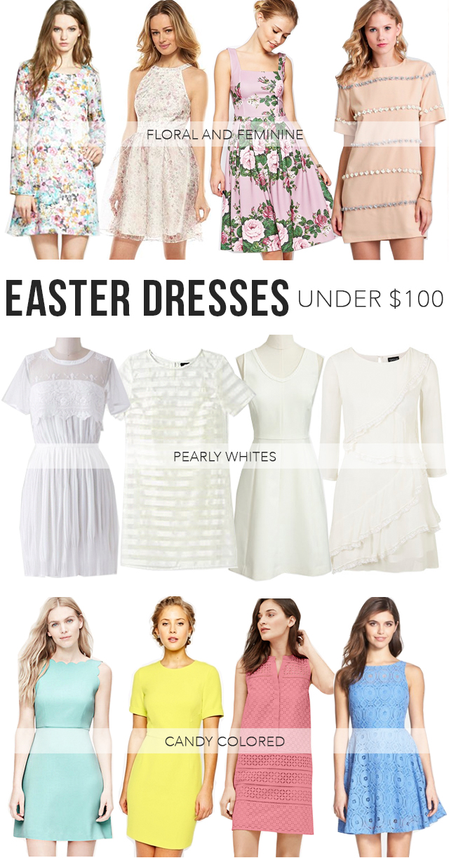 The Steele Maiden: Easter Dresses under $100