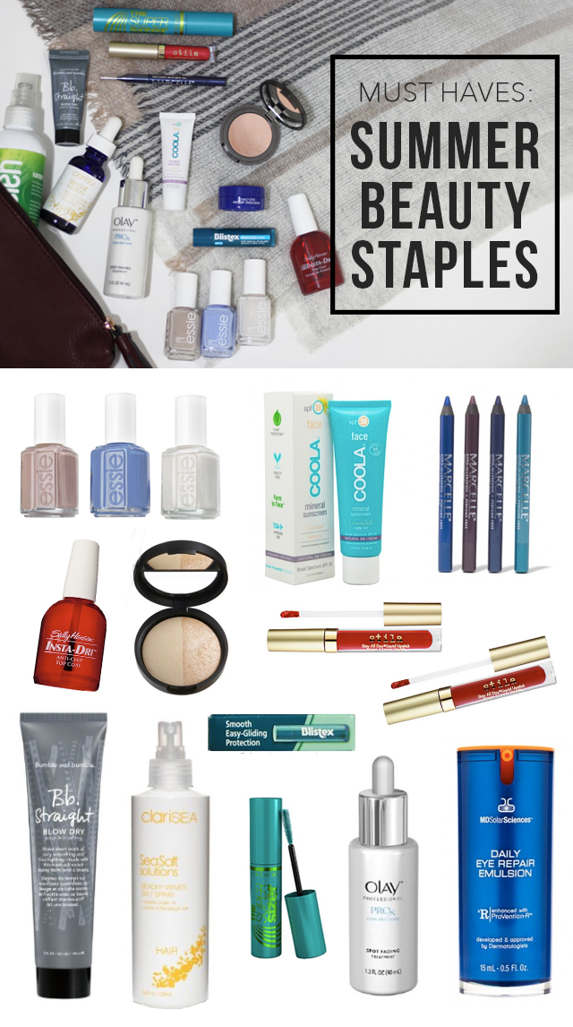 Summer Beauty Staples