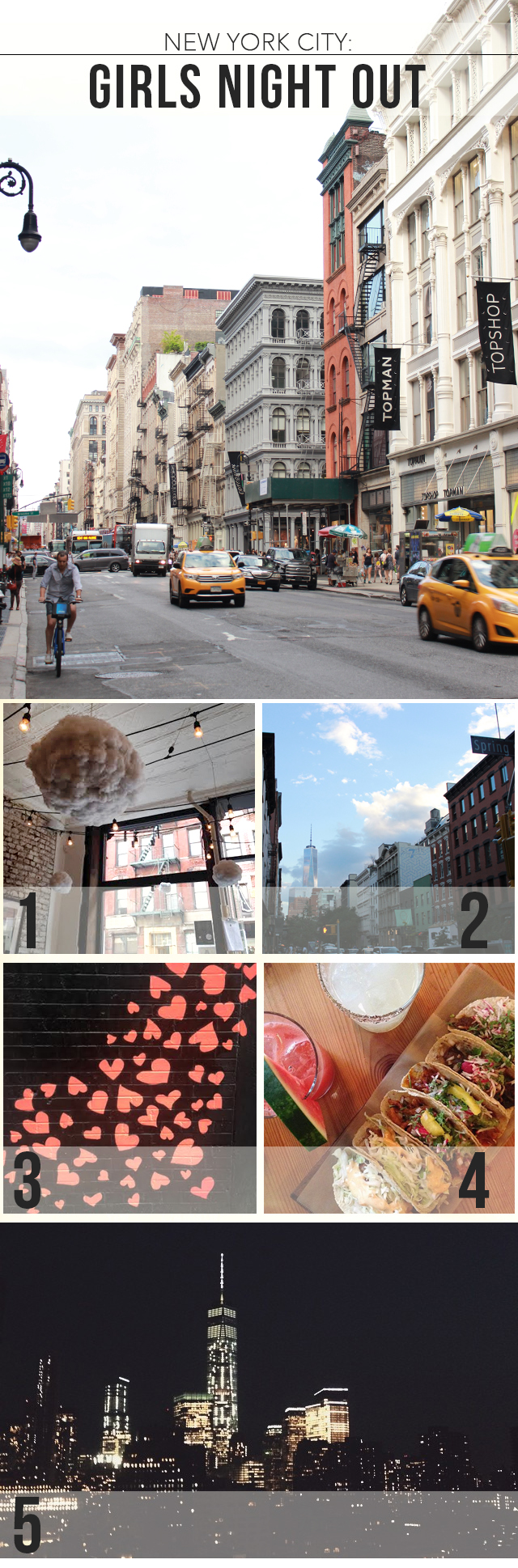Insiders Guide to NYC: What to do on a Girl's Night Out