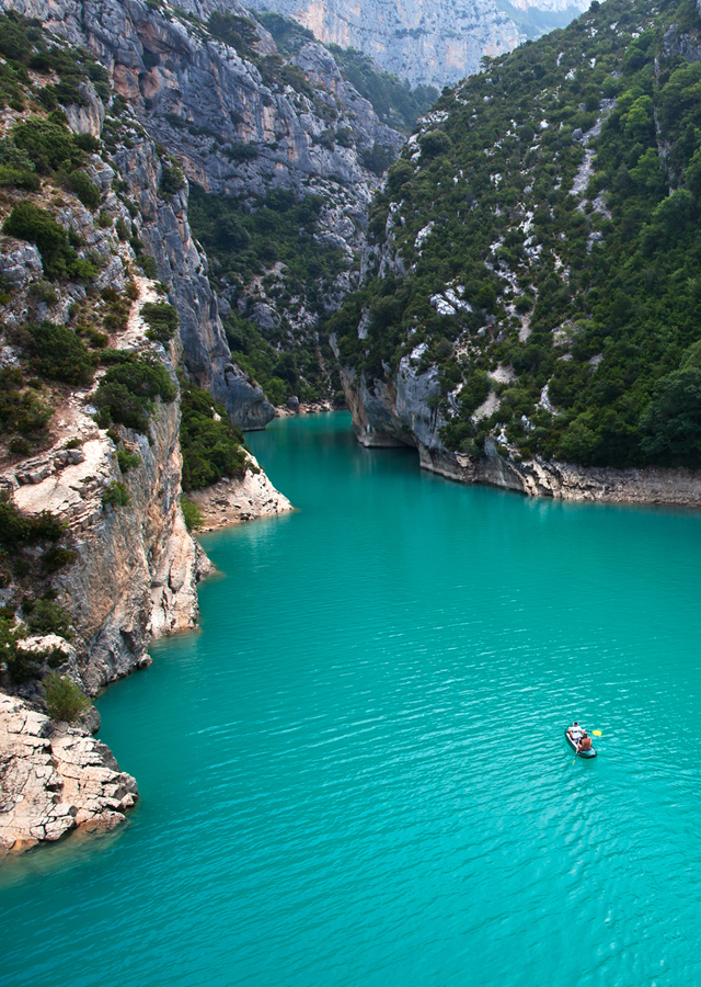 Travel Inspiration: Verdon Gorge, France