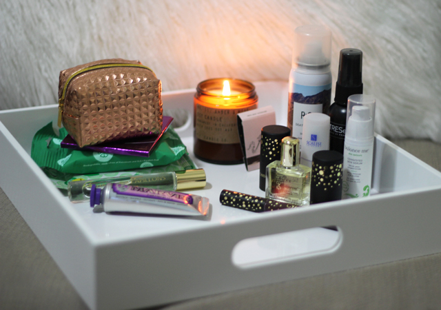 Carry-on travel beauty essentials