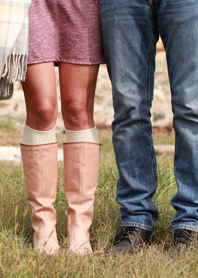 His and hers Fall boot style with Cat Footwear