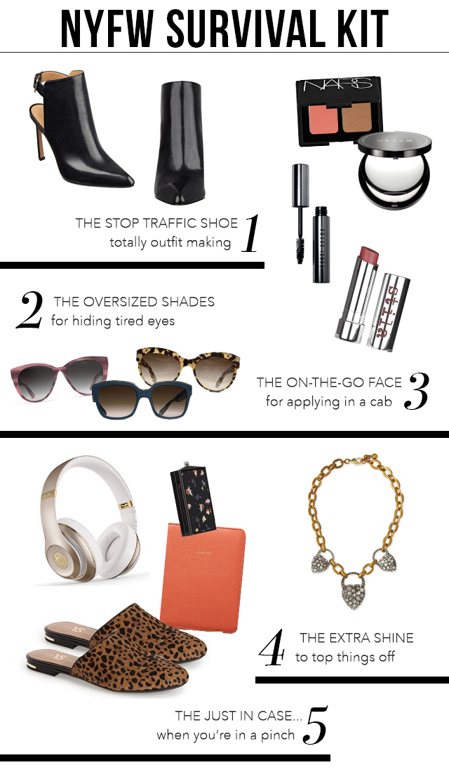 The Steele Maiden NYFW Survival Guide