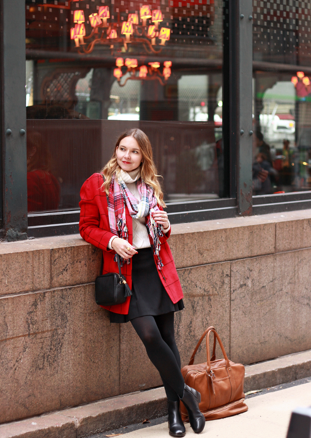 Grand Central Station - Holiday Travel Style with Talbots