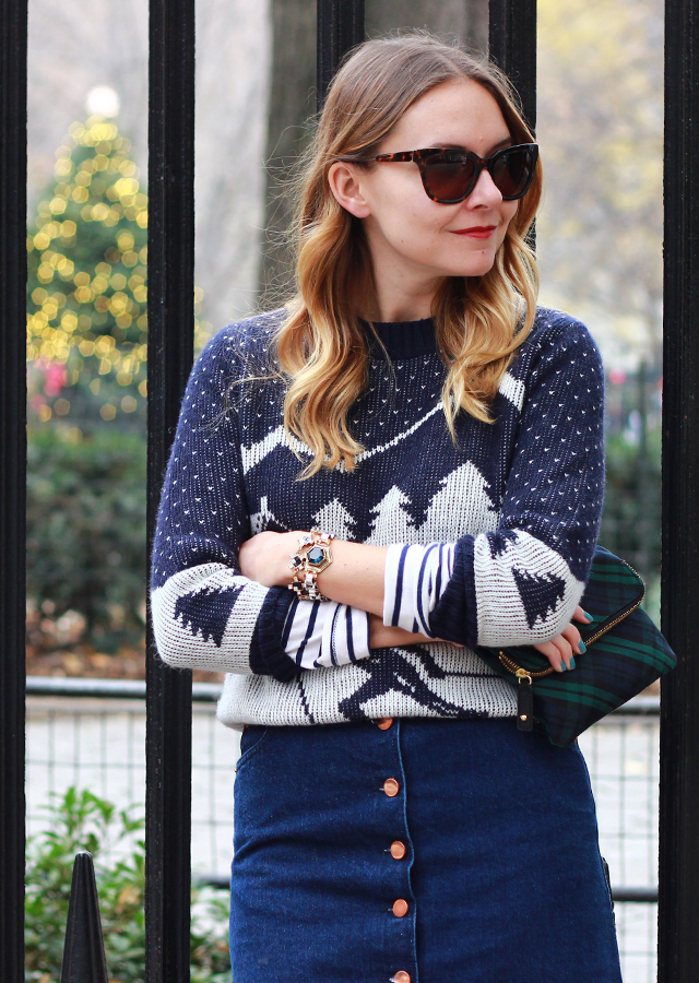 Winter Knit Sweater And Suede Boots The Steele Maiden
