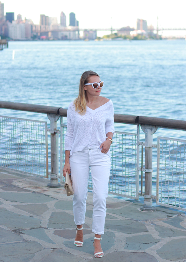 Summer Style: Head to Toe White Monochrome