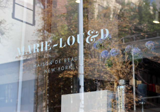 Prepping for NYFW with Marie-Lou & D Salon in Soho, New York