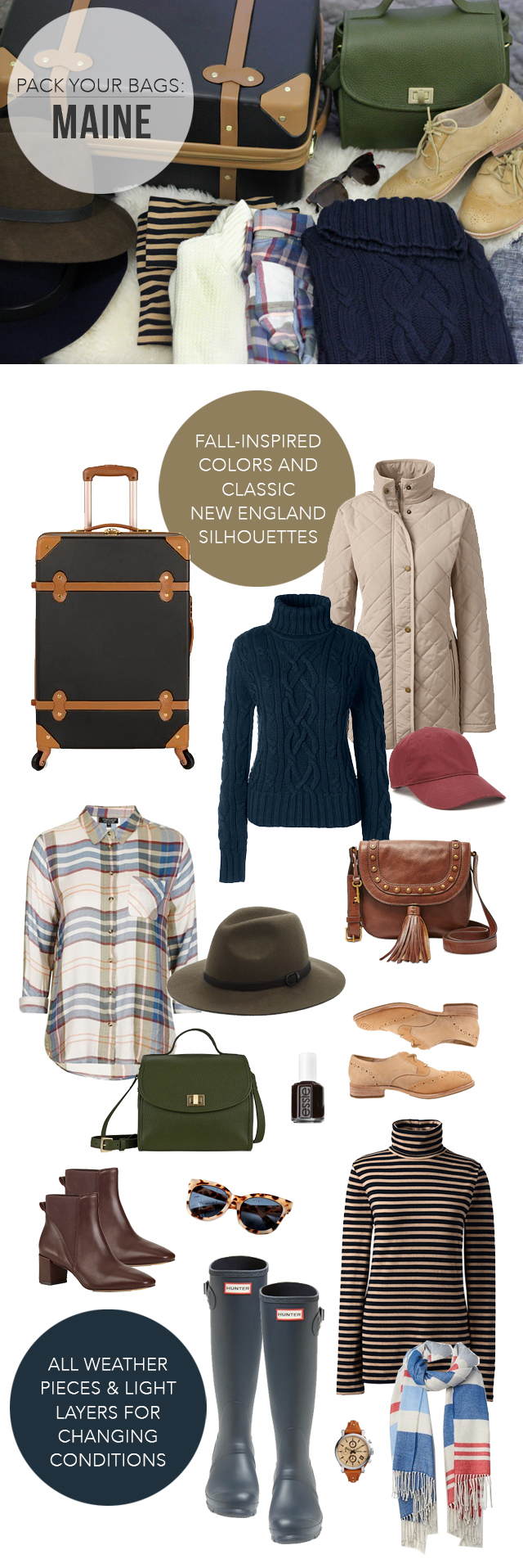 The Steele Maiden: What to Pack for a Fall road trip to New England