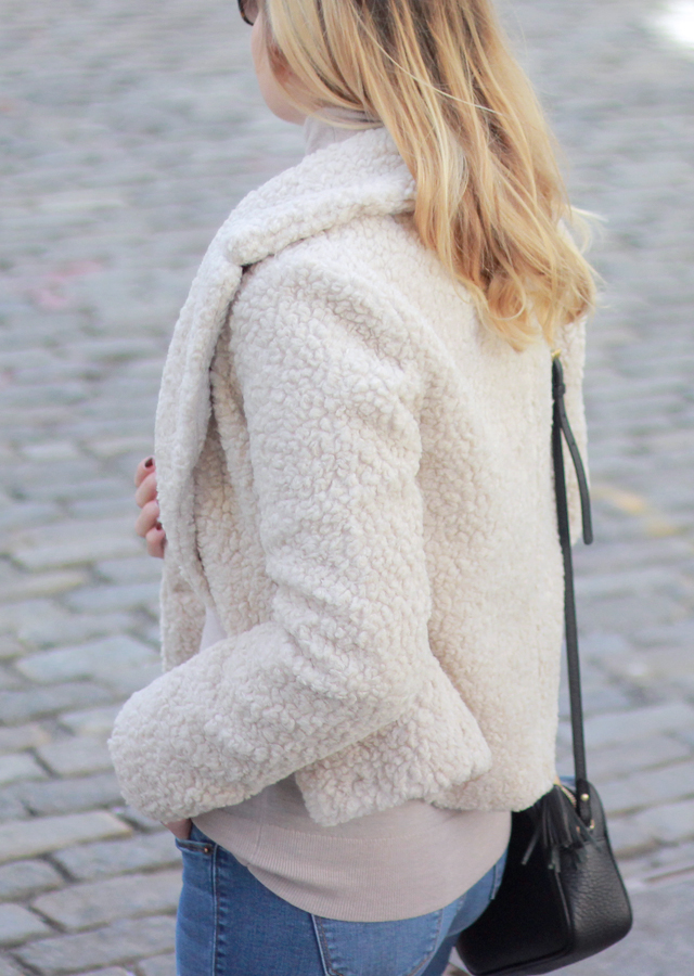 Textured Sweater Coat