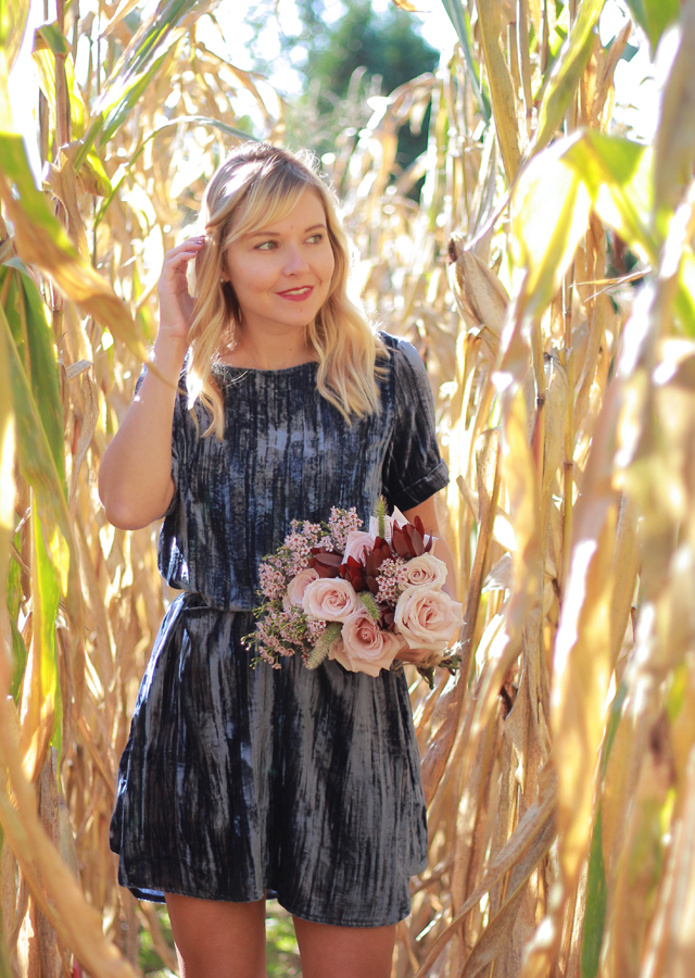 The Steele Maiden: Romantic Fall style with Anthropologie and Ralph Lauren Fragrance