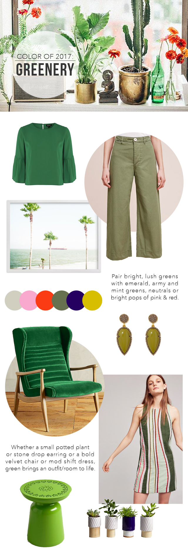 The Steele Maiden: How to wear Pantone's Color of 2017 - Greenery