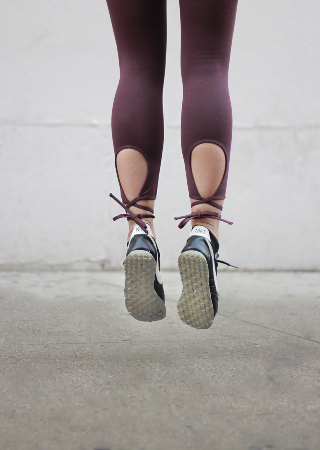 The Steele Maiden: New Year Workout Routine + Cute Activewear with Aerie