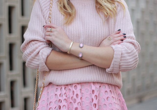 The Steele Maiden: Monochrome Pink for Valentine's Day