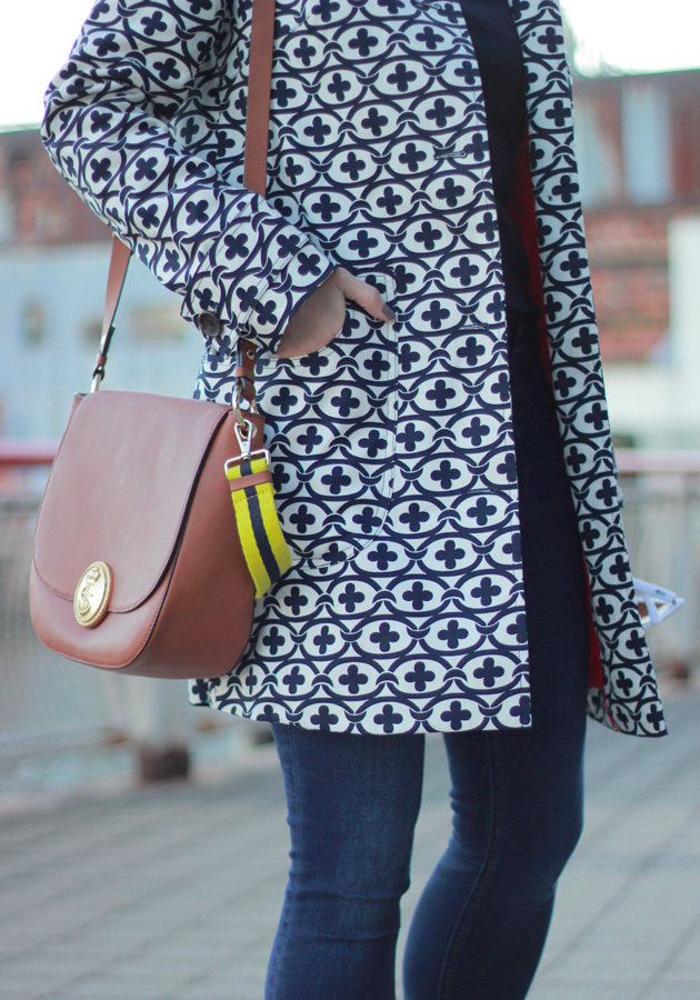 The Steele Maiden: Boden Spring Jacket and Leather Saddlebag