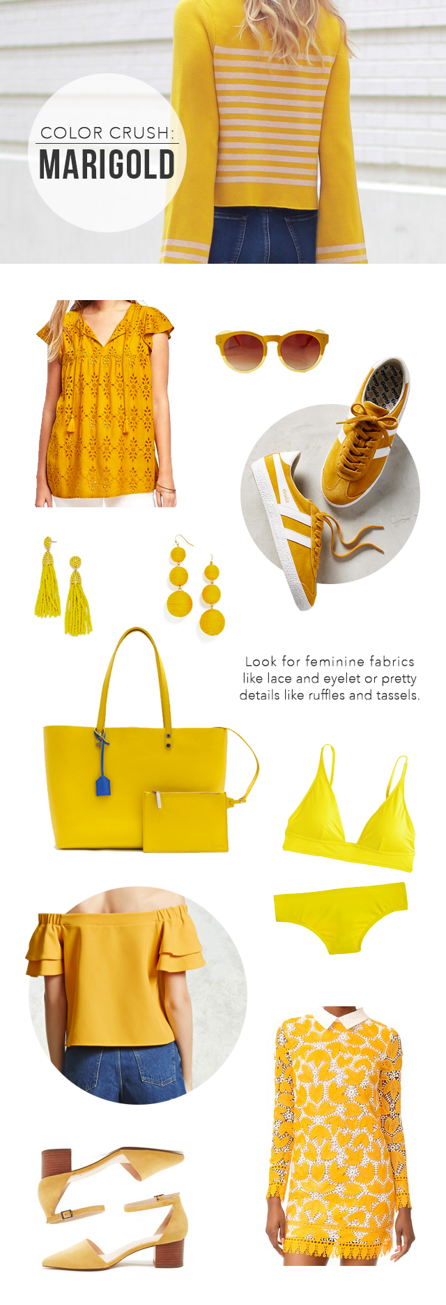 The Steele Maiden: Spring Color Crush - Marigold Yellow