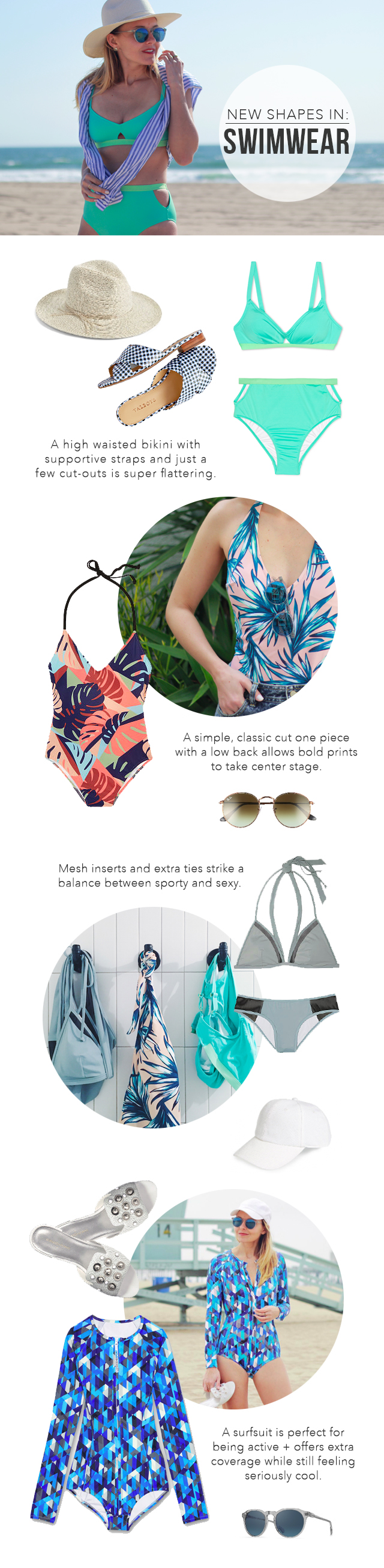 The Steele Maiden: New Swimwear Silhouettes to Try this Summer