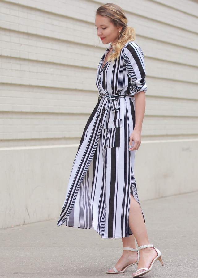 The Steele Maiden: Stripe Mini, Midi and Maxi Dress options for Spring