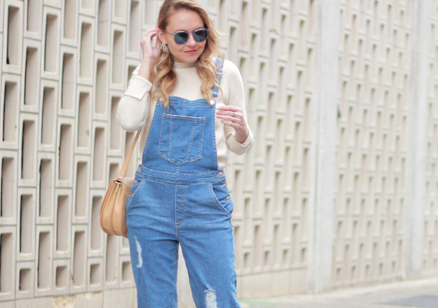 The Steele Maiden: Casual Spring Style - Denim Overalls and Leopard Slides