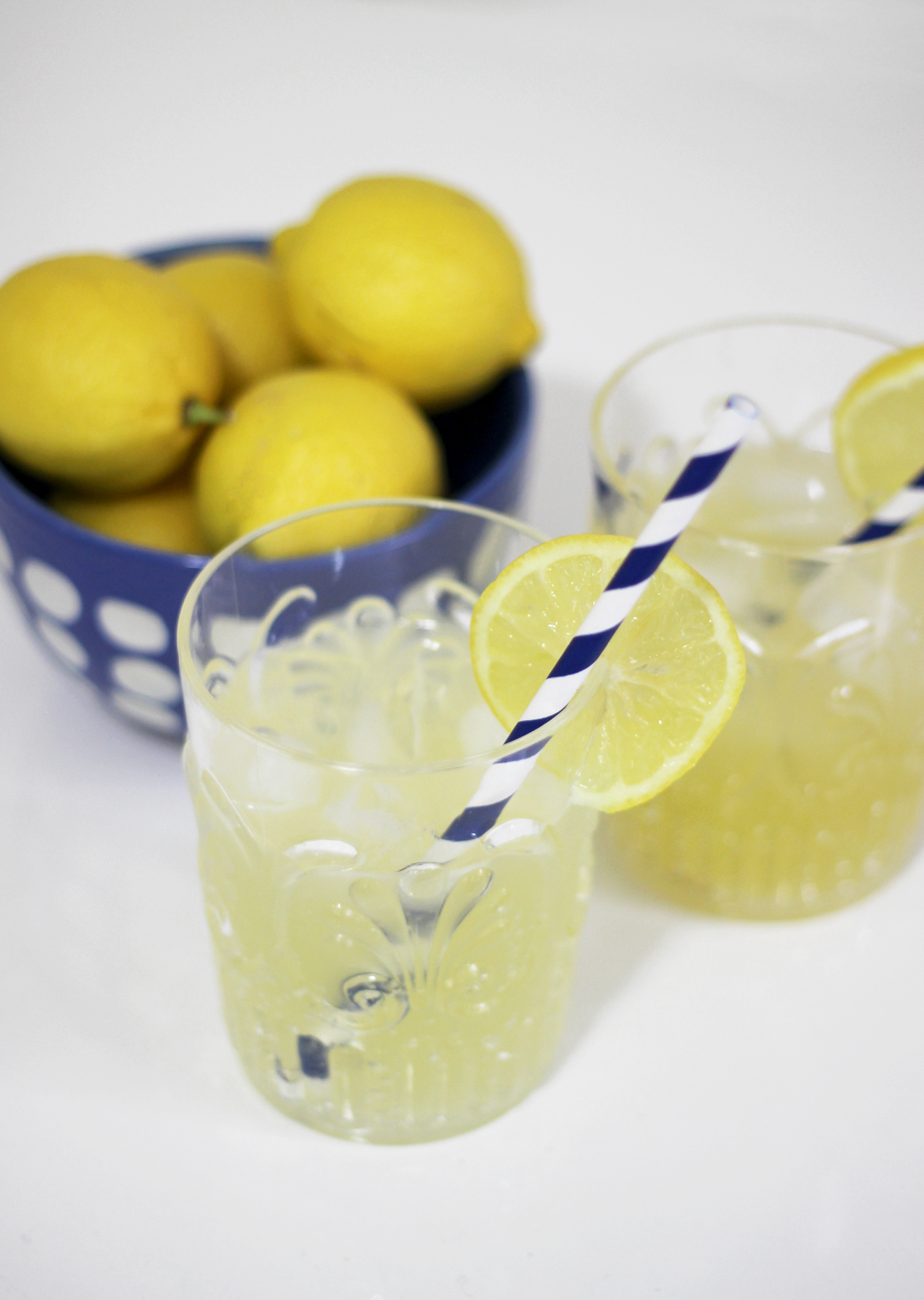 The Steele Maiden: Easy Summer Cocktail Recipe - Sparkling Lemon Drop