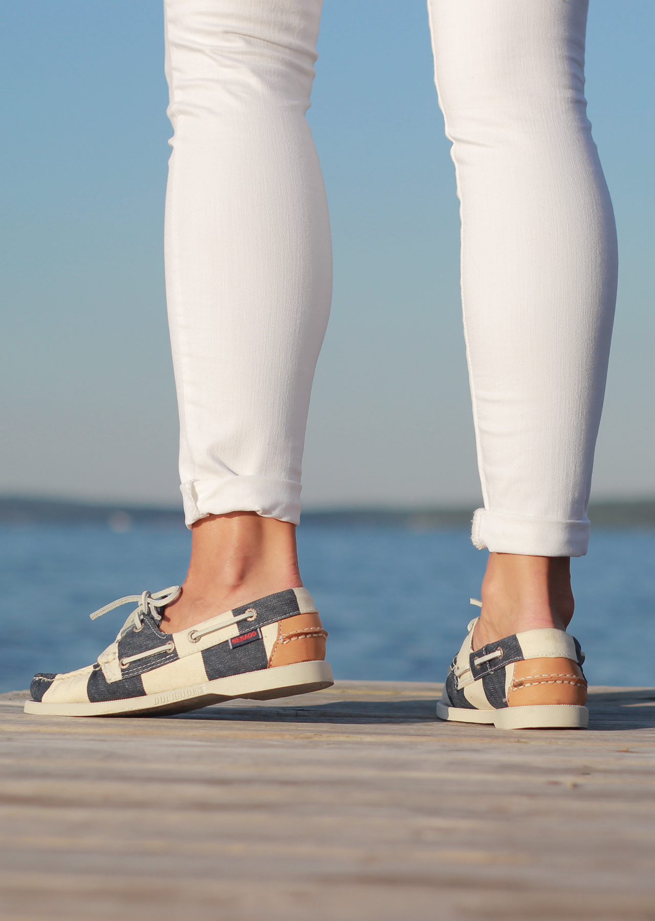 The Steele Maiden: Sebago Shoes at the Lake