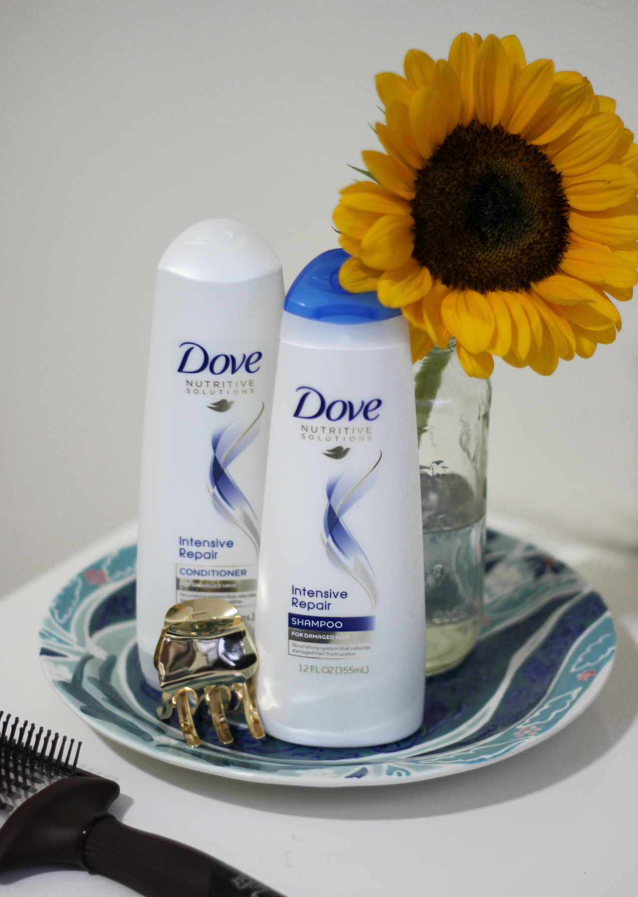 The Steele Maiden: Summer Tips for Healthy Hair with Dove Intensive Repair
