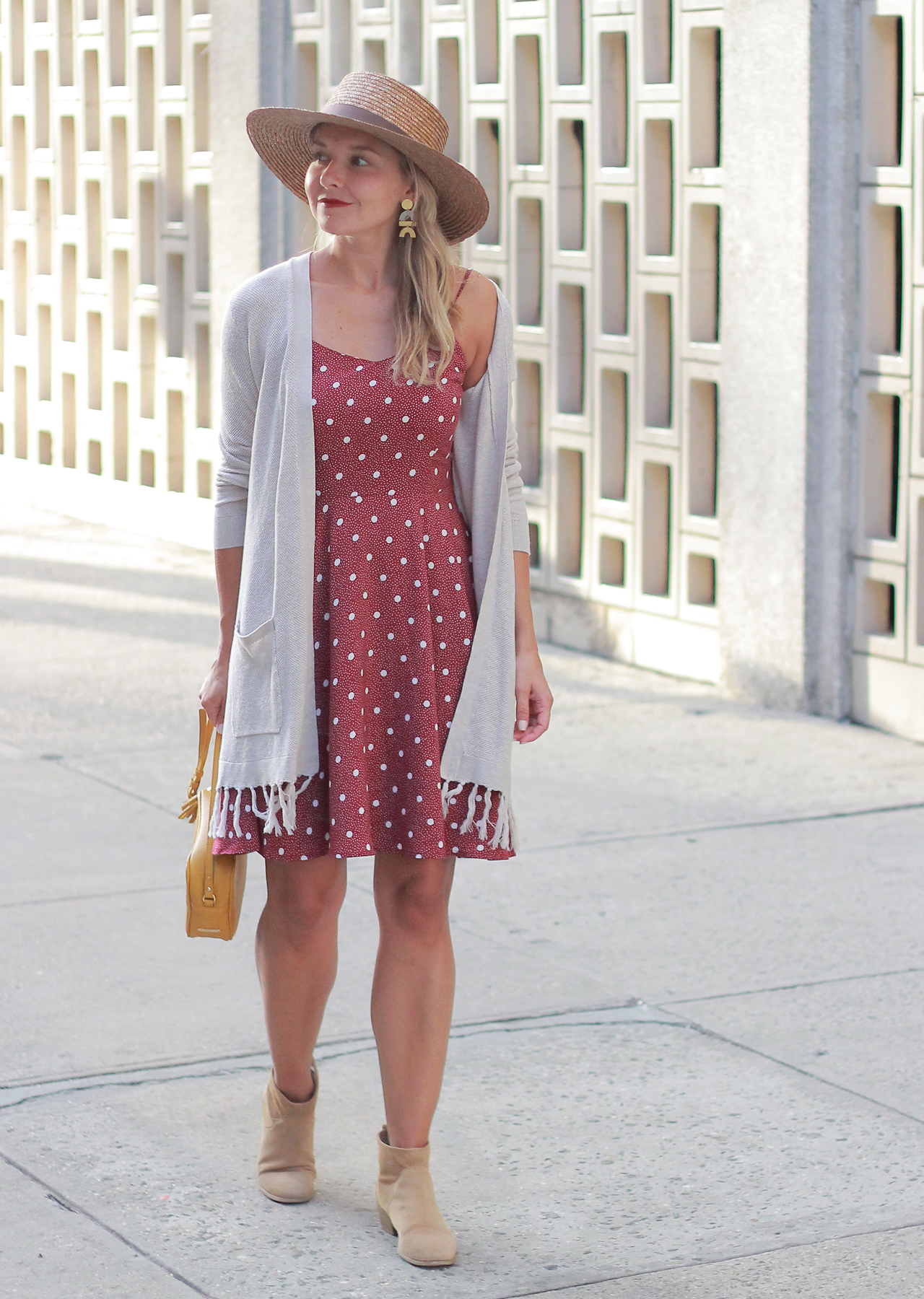 The Steele Maiden: Summer to Fall Transitional Style with Old Navy