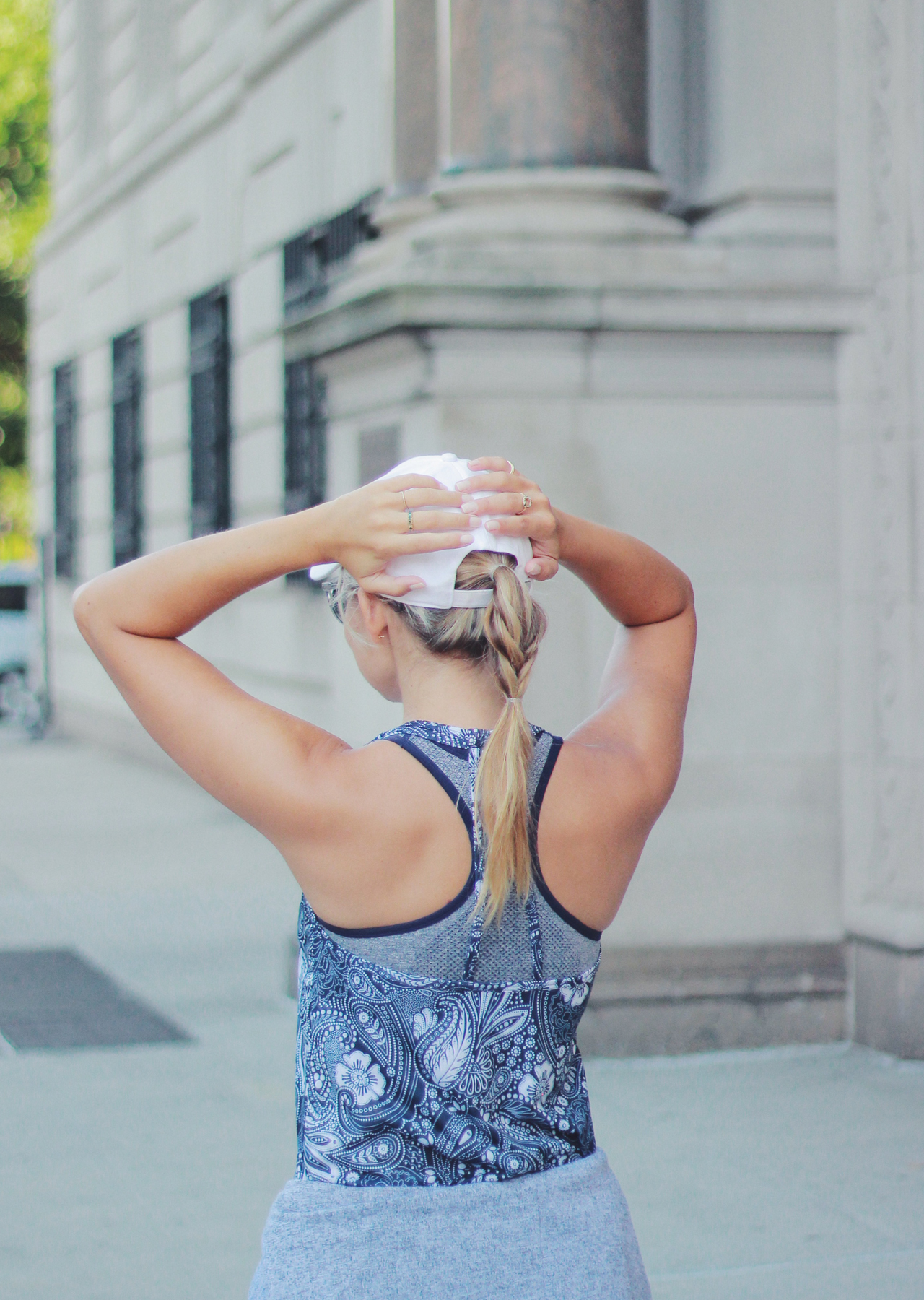 The Steele Maiden: End of Summer Workouts with Old Navy Active