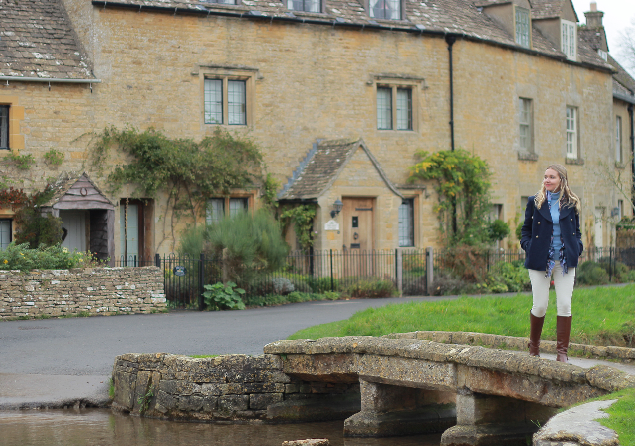 The Steele Maiden: Cotswolds, England - English Countryside Inspired Style for Fall