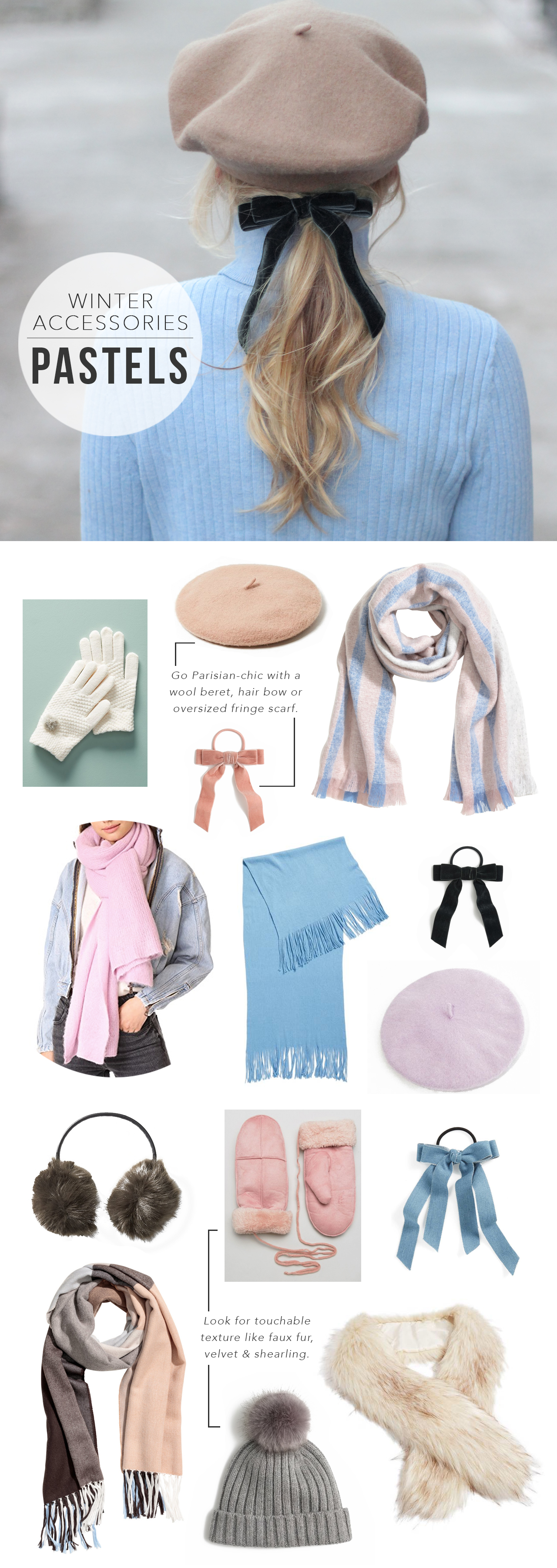 The Steele Maiden: Pastel Winter Accessories Under $50