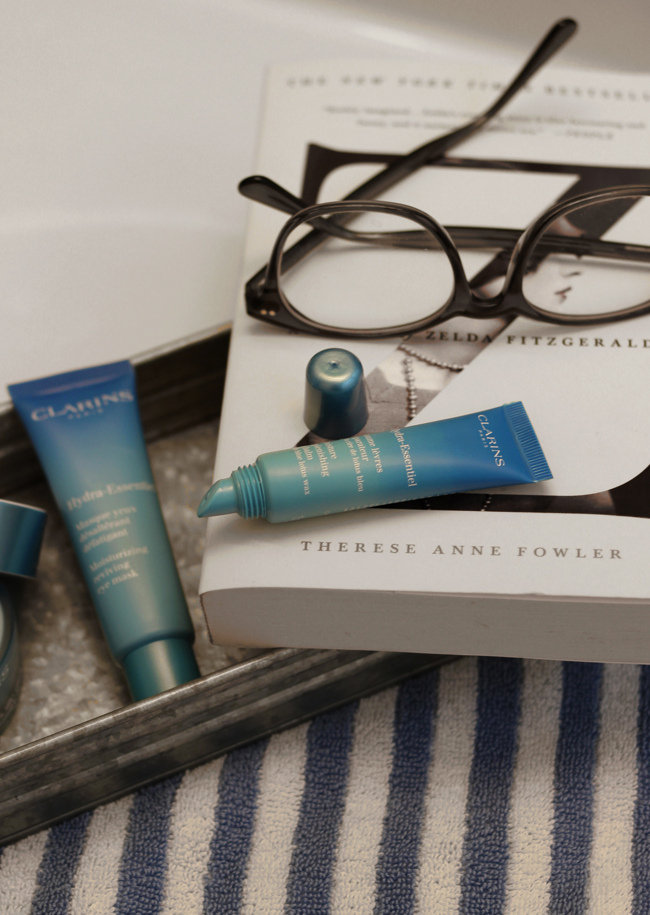 The Steele Maiden: Nightly Skincare Routine with Clairins Hydra-Essentiel