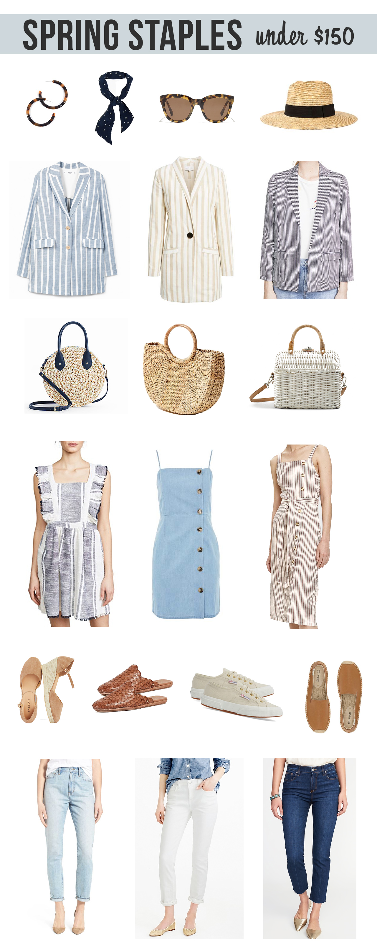 The Steele Maiden: Spring Staples Under $150