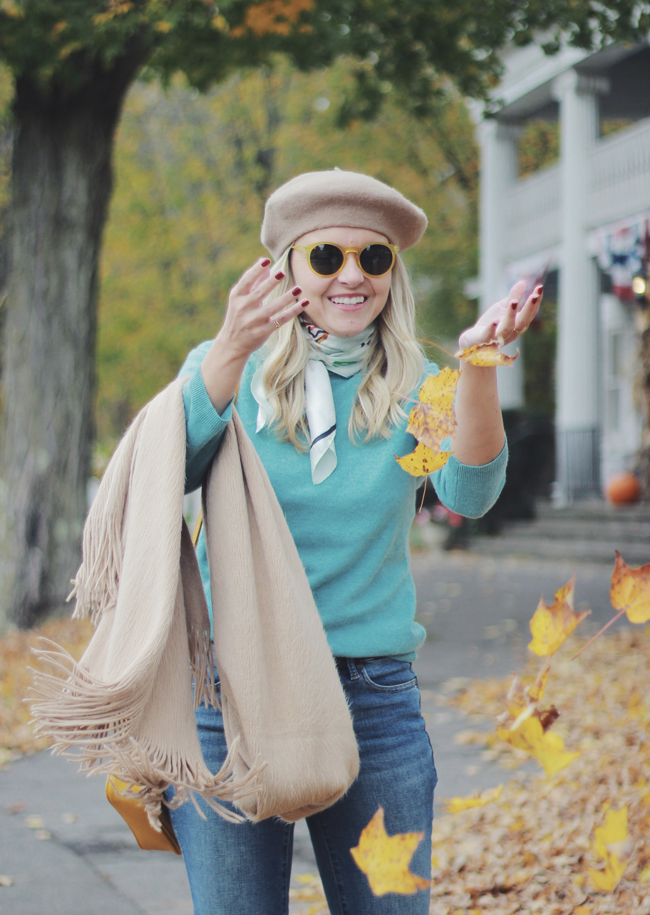 The Steele Maiden: Simple Fall Style Upstate New York