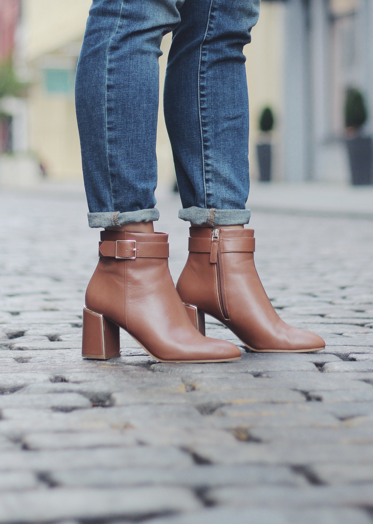 The Steele Maiden Fall Style - Talbots Leather Ankle Boots
