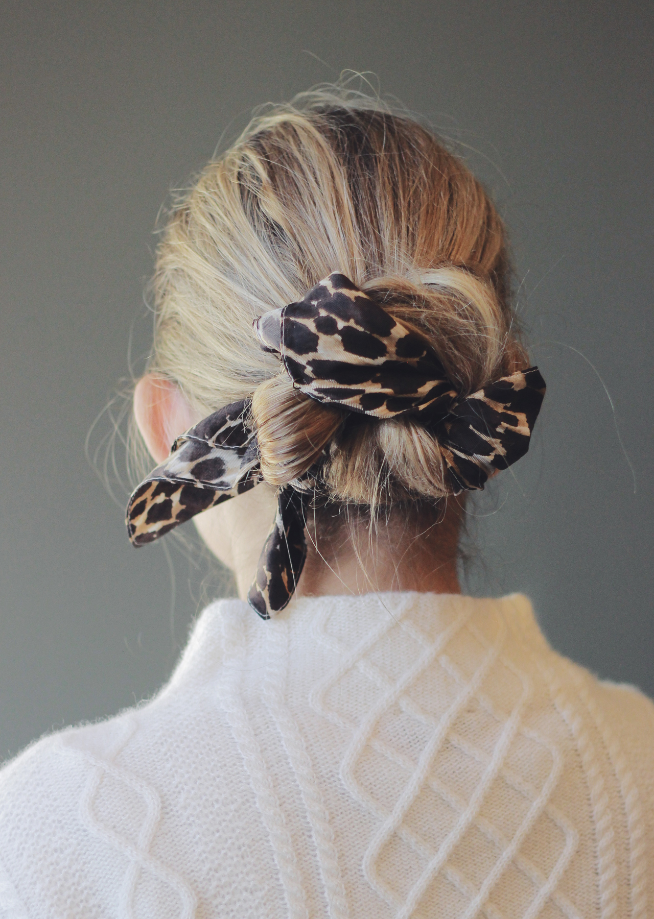 The Steele Maiden: 3 New Ways to Wear a Hair Scarf this Fall