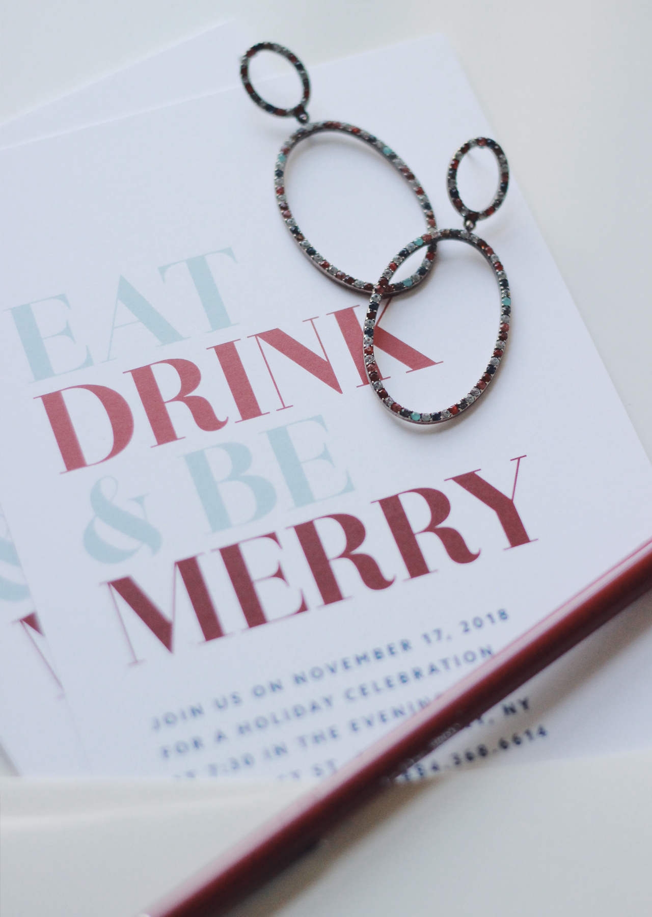 The Steele Maiden: Holiday Party Invitations with Basic Invite