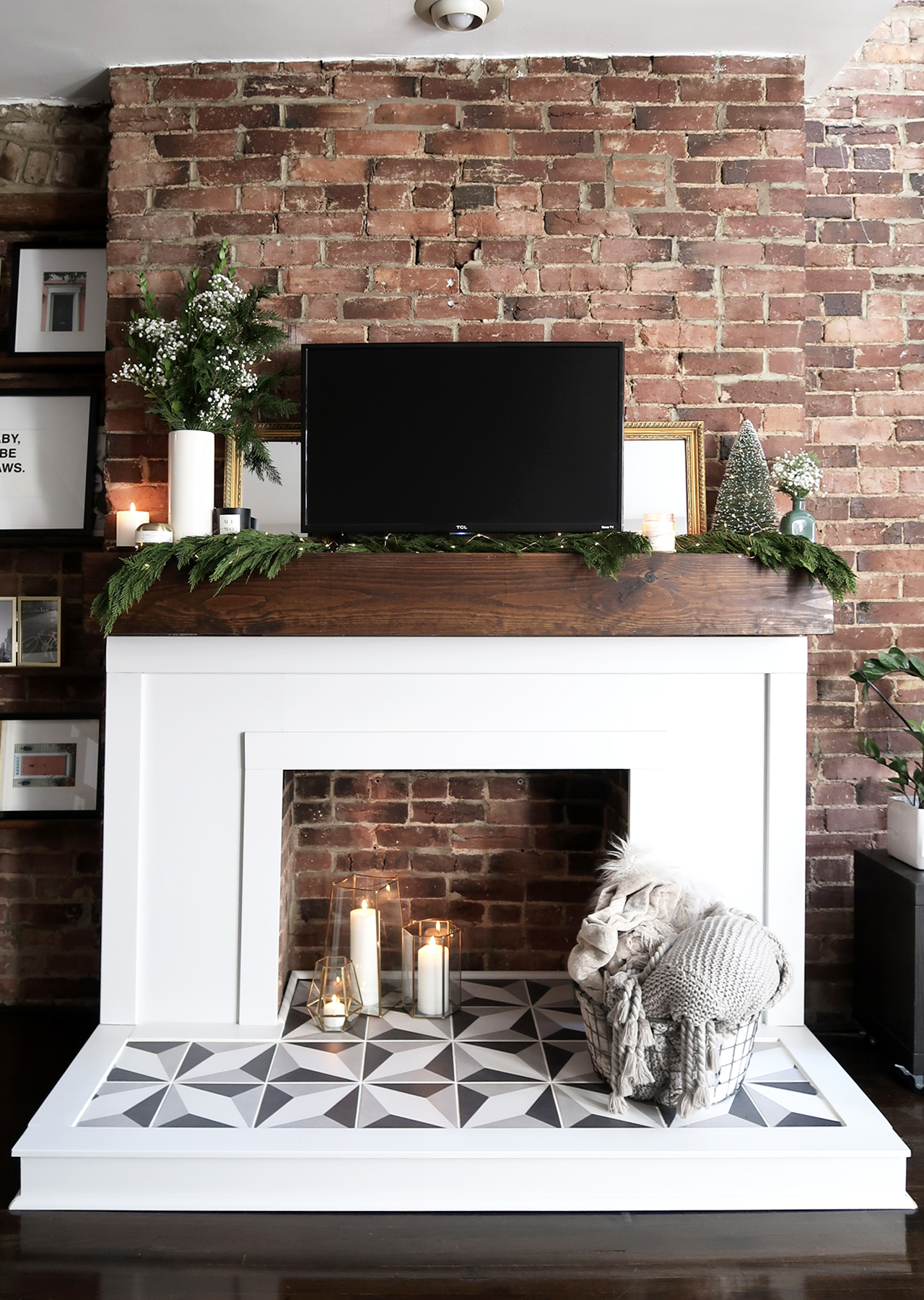 The Steele Maiden: DIY Fireplace Makeover with The Home Depot